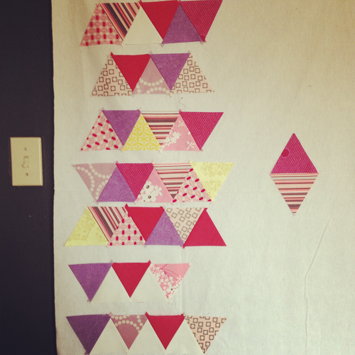 wip triangle