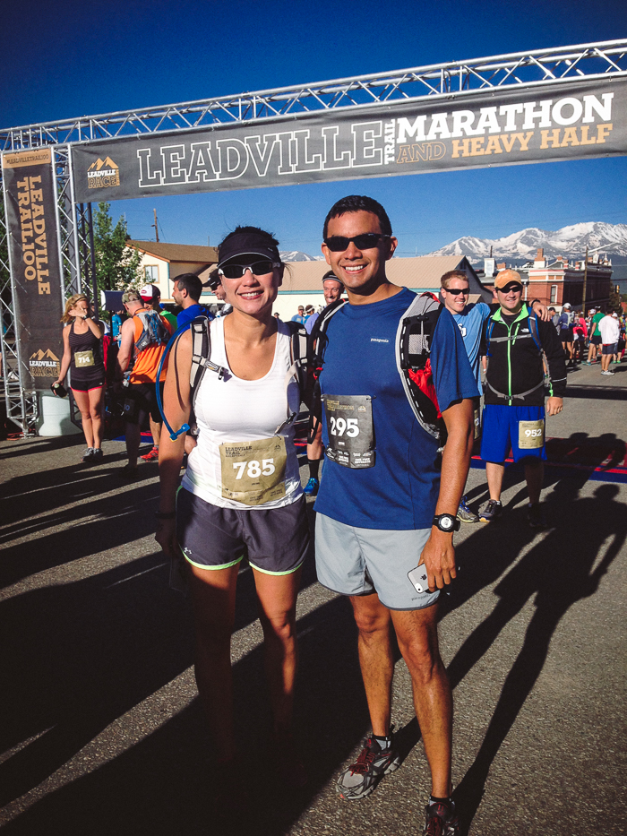 2014 Leadville Trail Heavy Half Marathon