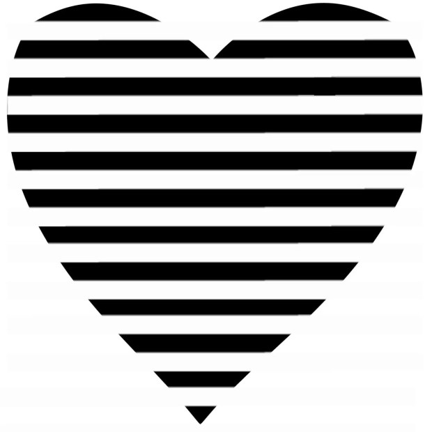 Copycat Chic Anthropologie Striped Heart Tank For Less