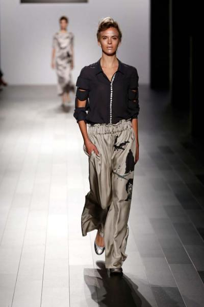 Francesca Liberatore: Beautiful Prints and Dresses NYFW ...