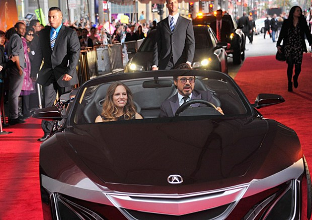Acura Cars Assemble for Marvel's The Avengers