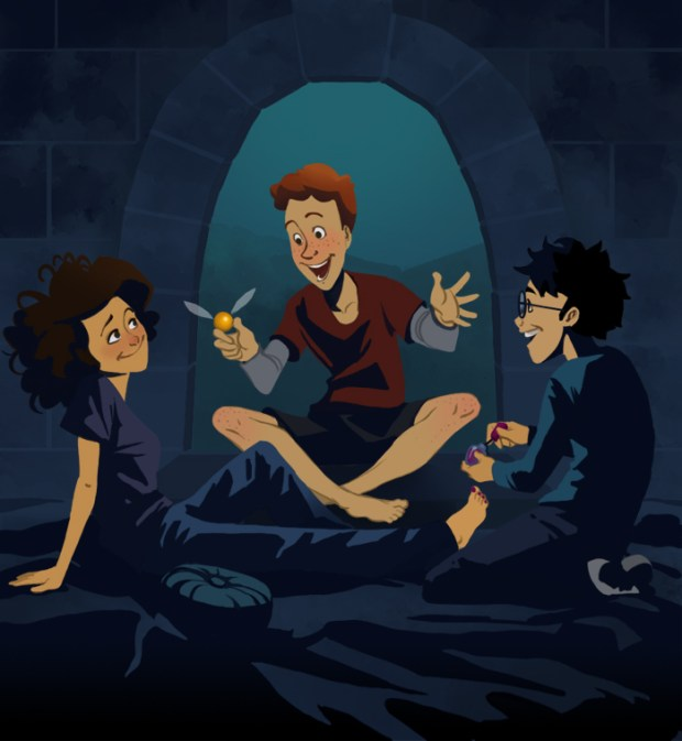 Harry Potter Cartoon Style Art (9)