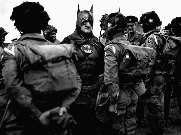historic photographs with Super Heroes (6)