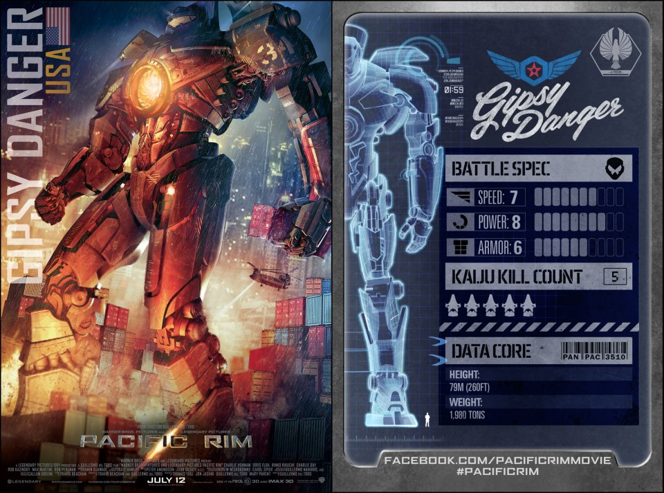 pacific rim american Jaegers stats