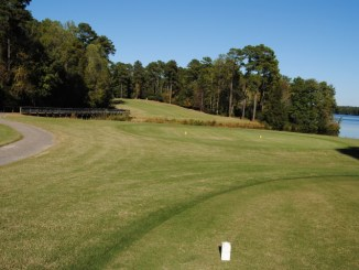 18th hole, Cheraw Golf Course