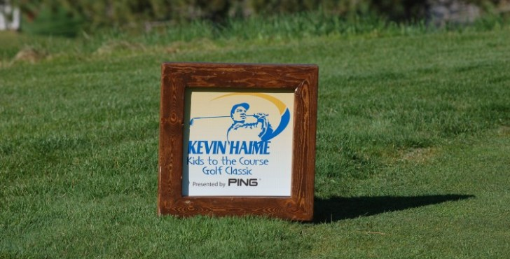 The 2016 Kevin Haime Kids To The Course Classic raised a lot of money and had some very special guests (Photo: Scott MacLeod)