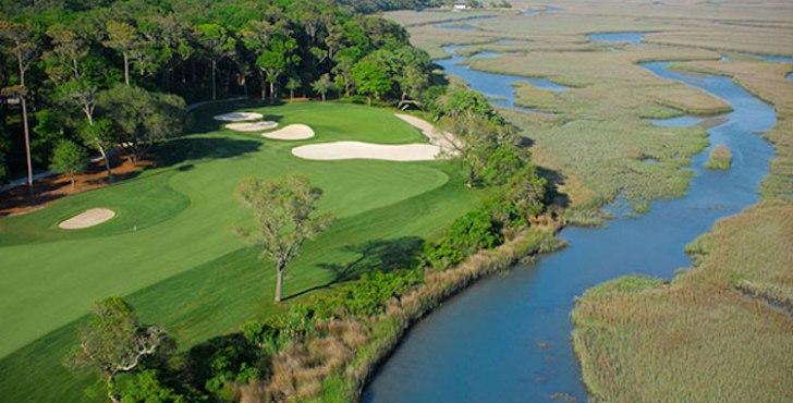 Hole 13, Tidewater Golf Club