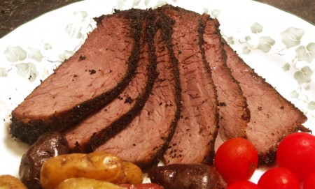 Coffee Chipotle London Broil | Flamingo Musings