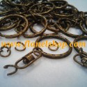 ring gantungan kunci perunggu atau bronze key chain ring