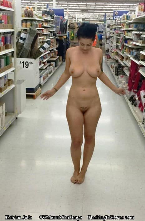 naked people in department stores