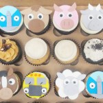 farm animal fondant toppers