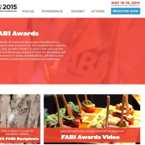 National Restaurant Association to Showcase 2015 FABI Award Recipients at its May 16-19 Restaurant, Hotel-Motel Show