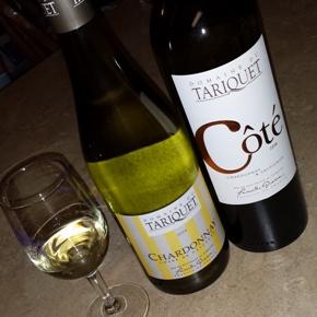 Wine Review: 2014 Domaine du Tariquet Chardonnay and 2014 Domaine du Tariquet Côté
