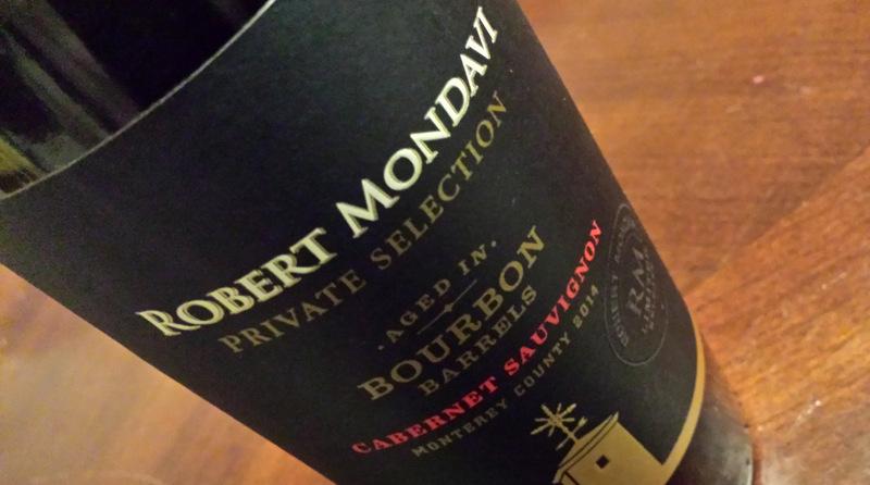 2014 Robert Mondavi Private Selection Bourbon Barrel Aged Cabernet Sauvignon