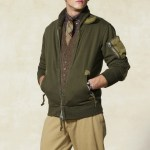 Rugby Ralph Lauren Military Shawl Bomber Jacket