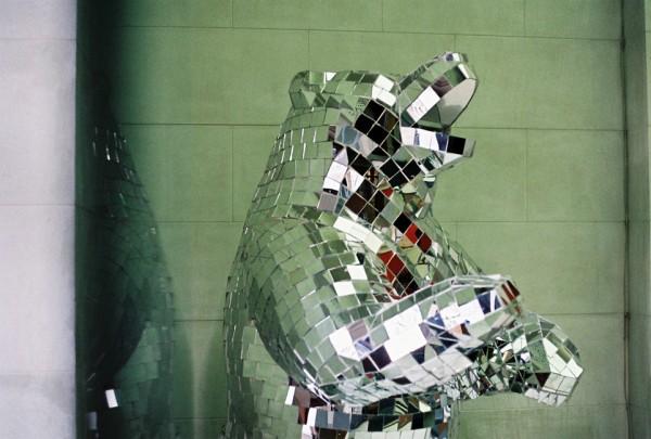 Arran Gregory Bear Sculpture