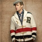 Rugby Vintage Striped Cardigan