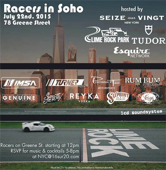 Racers In Soho Event