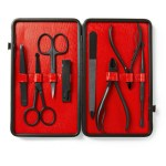 Czech & Speake Leather-Bound Manicure Sets
