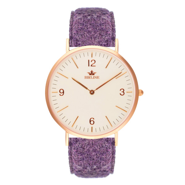 Birline Woodley Rose Gold Watch