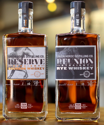 Union Horse Reunion Straight Rye Whiskey