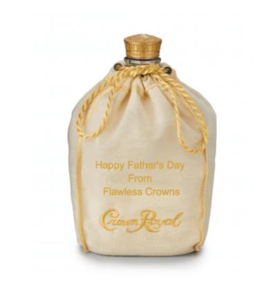Crown Royal Customized Bag
