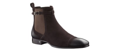Louis Vuitton Equinox Ankle Boot Suede Calf Leather Shoe
