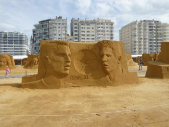 Sandskulpturenausstellung