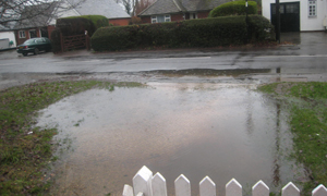 TWENTY YEARS OF FLOODING IN CROOKHAM VILLAGE