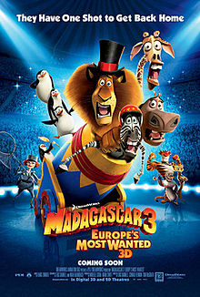 Madagascar 3: Europe's Wanted