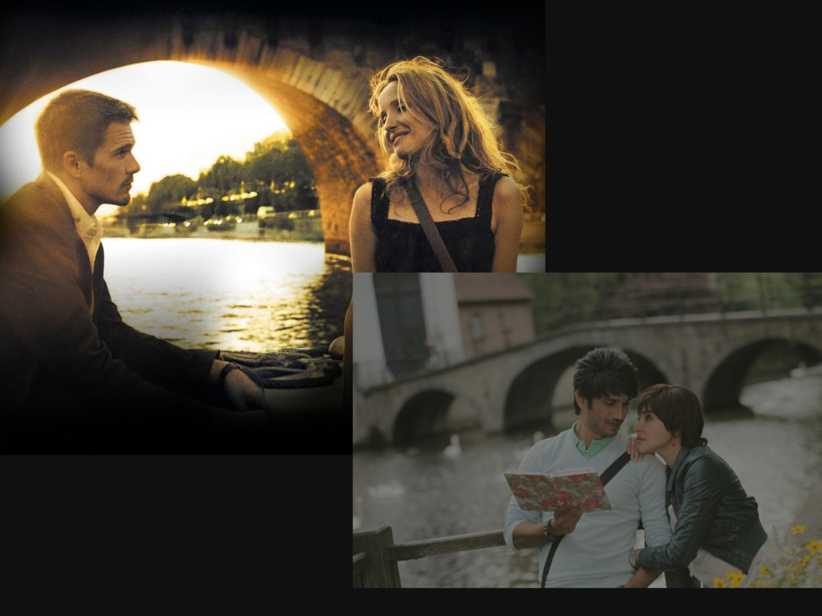 Is this song from 'PK' inspired from Before Sunset's 'Waltz'?