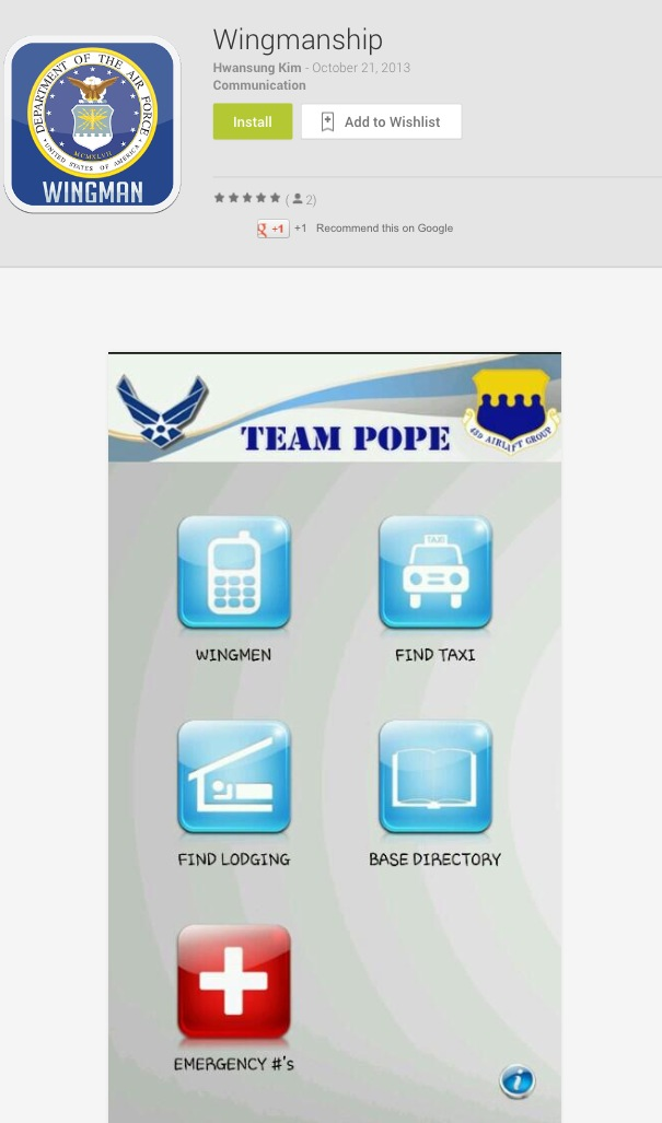 wingman airplane dating app