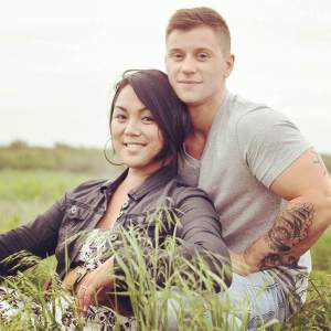Senior Ariman Logan Ireland and his fiance Army Cpl. Laila Villanueva.