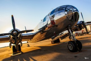 """The B-29 Superfortress known as """"Doc."""" A non-profit group has set up a Kickstarter to restore the plane. (Photo Courtesy Doc's Friends)"""
