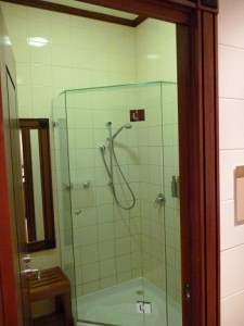 Shower At The Emirates Lounge
