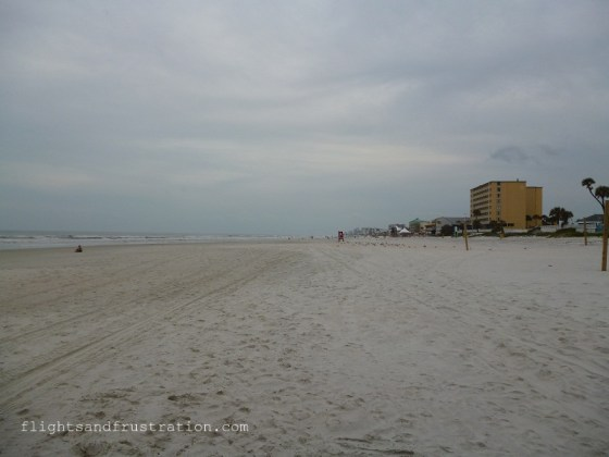 Daytona, the most famous beach in the world goes on for miles