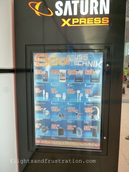 Electronics vending machine