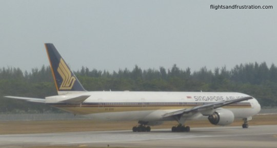 Singapore Airlines plane - why do I have to get off the plane?