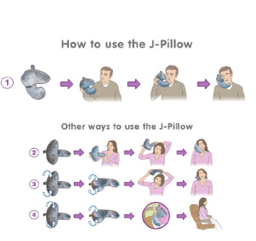 How to use the J Pillow