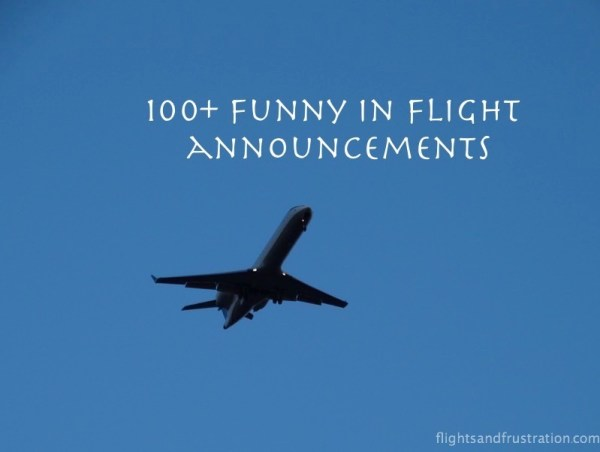 100+ funny in flight announcements flight attendant funny