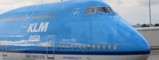 Mexico City KLM names of planes