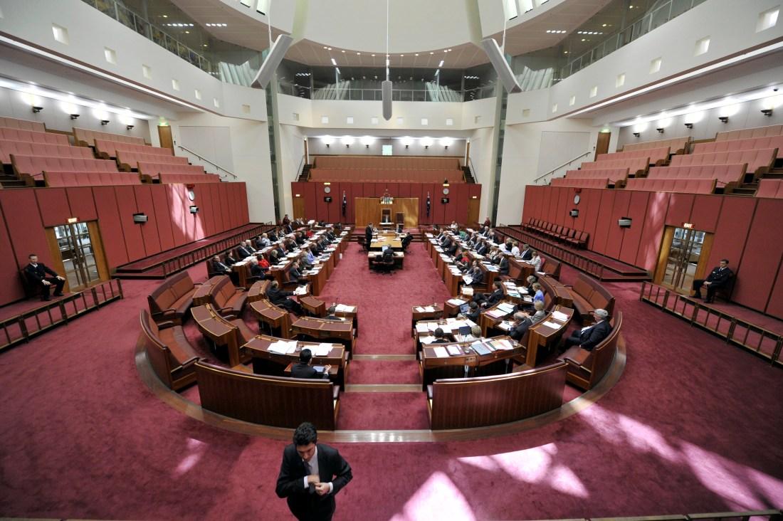 Senate Question Time Chamber 18/11/2010 file no 10467