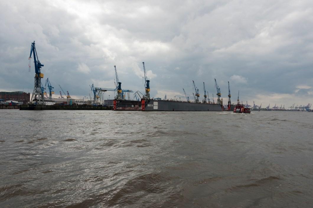 Hamburg River Elbe Dock 10 II