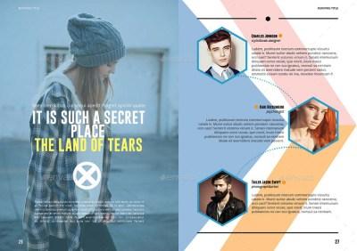 10 Fabulous Fashion Magazine Templates for Free Download