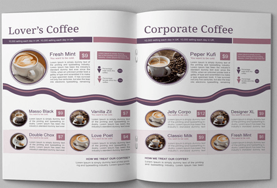10 Awesome Coffee Shop Brochure Templates for Coffee Business     Free     10 Awesome Coffee Shop Brochure Templates for Coffee Business   Free PSD   AI Download