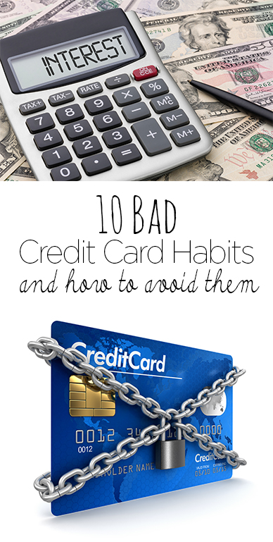 Credit card habits, credit cards, credit, getting out of debt, popular pin, save money, make money, budgeting.