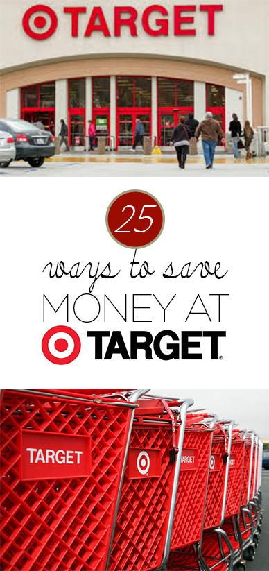 25 Ways to Save Money at Target