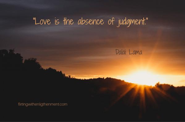 suspending judgment, judgement, creativity, spirituality, mindfulness