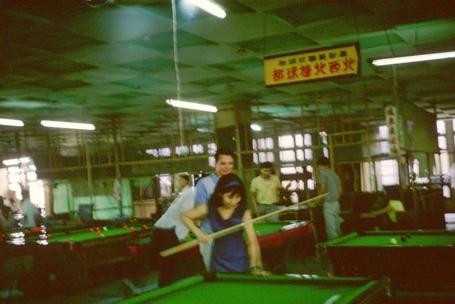 1960 年代台中撞球場