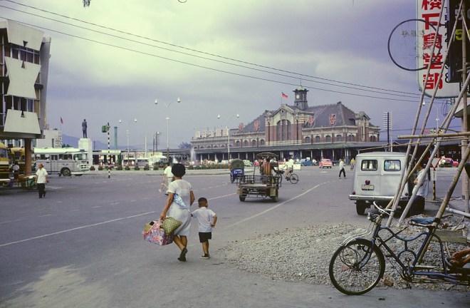 1966 年的台中火車站